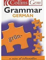 German Grammar (Collins Gem)