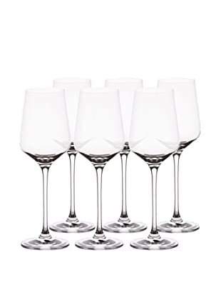 BergHOFF Set of 6 Chateau 12-Oz. White Wine Glasses