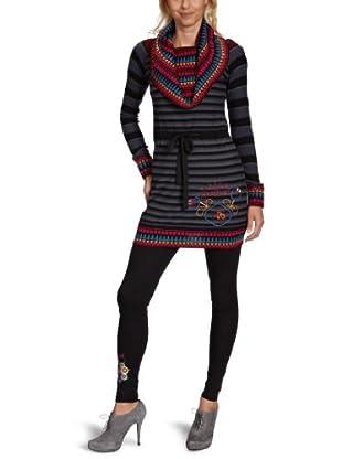 Desigual Vestido corto, 27V2081 (Gris)