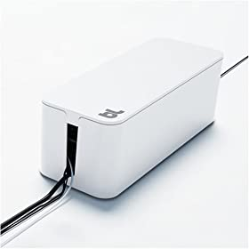 Blue Lounge ケーブルボックス(ホワイト) The CableBox White BLD-CB-WT