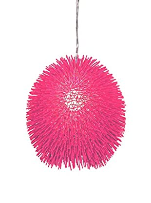 Varaluz Urchin 1-Light Pendant, Hot Pink