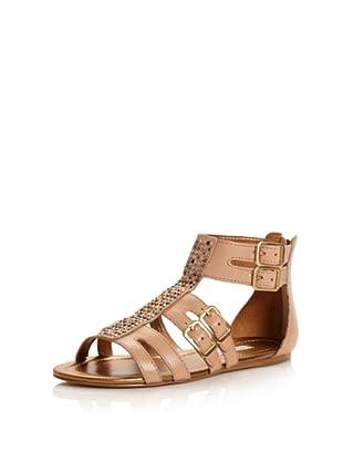 Cynthia Vincent Women's Brea Ankle-Strap Sandal (Natural)