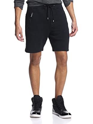 Just Cavalli Men's Knit Shorts (Black)