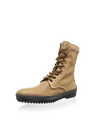 Tod's Men's Winter Lace-Up Boot (Camel)