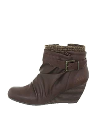 Blowfish Believe Wedges Bootie BF2336 AU12, Stivaletti donna (Marrone (Braun (dark brown austin PU BF222)))