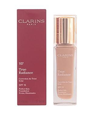 CLARINS Base De Maquillaje Líquido True Radiance N°107 Beige 15 SPF 30.0 ml