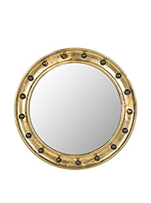 Safavieh Mariner Porthole Mirror, Antique Gold
