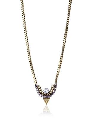 Lionette Designs by Noa Sade Tribeca Tribal Necklace, Amethyst Purple