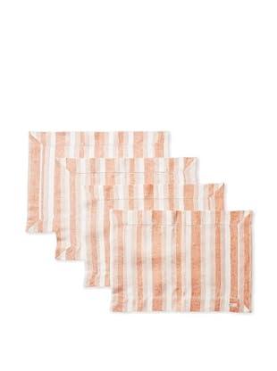 Sferra Set of 4 Ascot Placemats (Paprika)