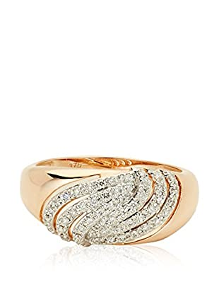 Bentelli Anillo 9K Gold 0.24Ct Diamonds