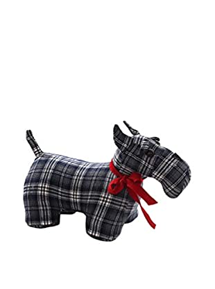 Winward Plaid Scottie, Black/Red