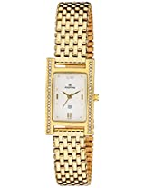 Maxima Analog Silver Dial Women's Watch - 15267CMLY