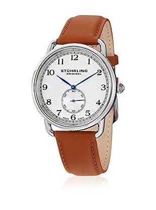 Stührling Uhr mit Schweizer Quarzuhrwerk Decor braun 41 mm