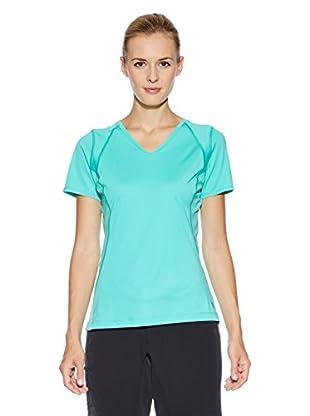 Mountain Hardwear Camiseta Técnica Dryhiker Tephra S/S (Turquesa)