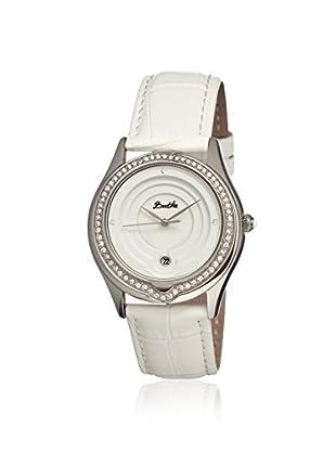Bertha Women's BR4101 Patricia White Leather Watch