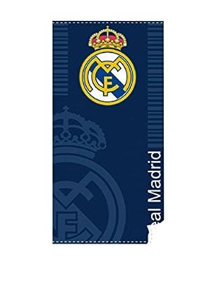 Real Madrid Toallas De Playa Soccer T. (Azul)