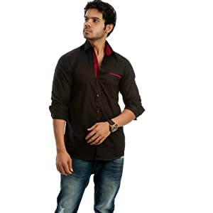 Nostra Young Casual Shirt(NY-BLK1)