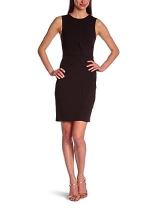 BCBGMaxazria Vestido Katel (Negro)