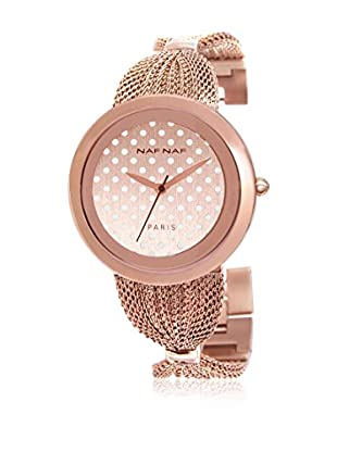 NAF NAF Quarzuhr Woman NOEUD MTL RD - KITTIE 40 mm
