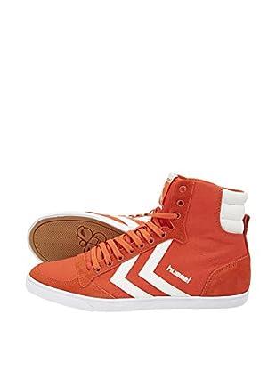Hummel Sneaker Slimmer Stadil High (orange)