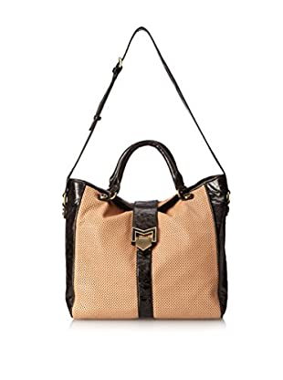 Treesje Women's Breaker Convertible Tote, Tan Perforated
