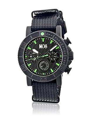 Mos Reloj con movimiento cuarzo japonés Mossp104 Negro 45  mm