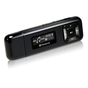 Transcend Digital TS8GMP330K Music Player 8GB MP-330(Black)