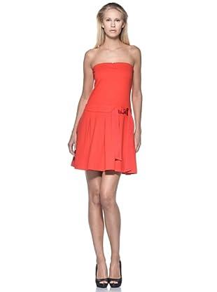 Love Moschino Vestido Fiocco (Rojo)