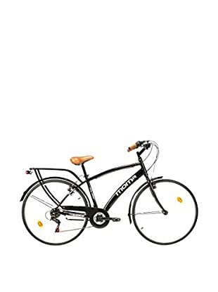 MOMA BIKES Bicicletta City Bike 28 Alu 18V City28Er Nero