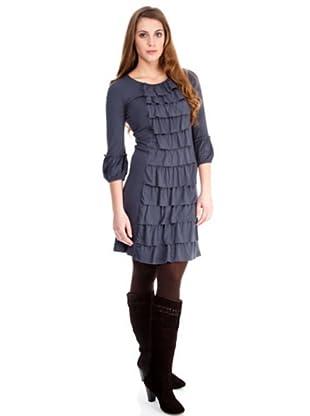 Almatrichi Vestido Raquel (plomo)