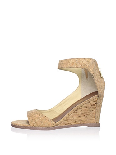 Matt Bernson Women's Charles Ankle Strap Wedge (Cork)