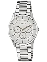 Citizen Analog White Dial Men's Watch - AG8350-54A