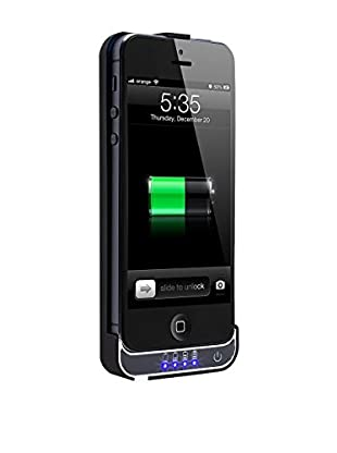Imperii Funda Con Batería 2200 Mah iPhone 5 / 5S Negro