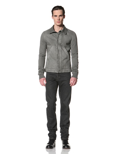 Rick Owens DRKSHDW Men's Dyed Denim Jacket (Dark Dust)