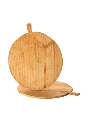 Reproduction Round Bread Board