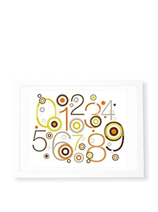 "Olli & Lime Billie 123 Wall Art, 19.75"" x 27.5"""