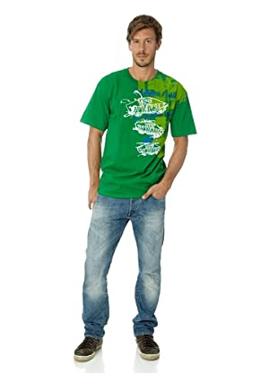 Vans Herren T-shirt Otw Spill (Kelly)