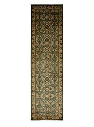 Darya Rugs Khotan Oriental Rug, Light Blue, 2' 9