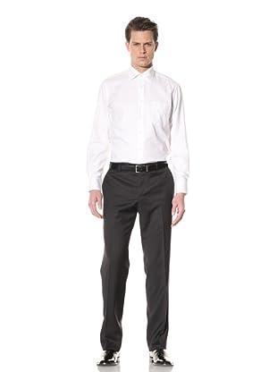 GF Ferré Men's Textured Dress Shirt