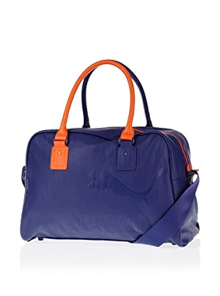 Puma Tasche Originals Mono Grip, 26 liters (navy blue-vermillion orange)