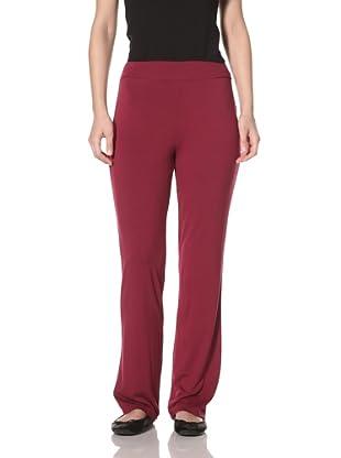 Nicole Miller Women's Swing Pant (Sangria)