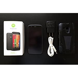 Motorola Moto G (1st Generation) - Black - 8 GB - Global GSM  Unlocked Phone