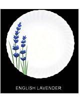 La Opala English Lavender Dinner Set, 20-Pieces, White/Blue/Green