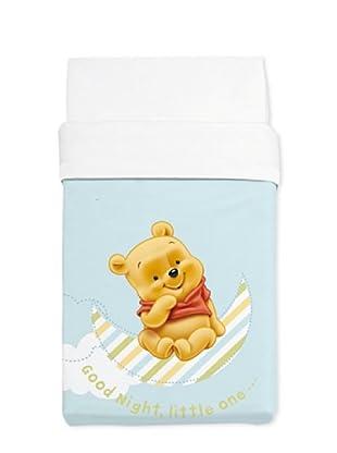 Disney Home Coperta Culla Winnie The Pooh (Blu)