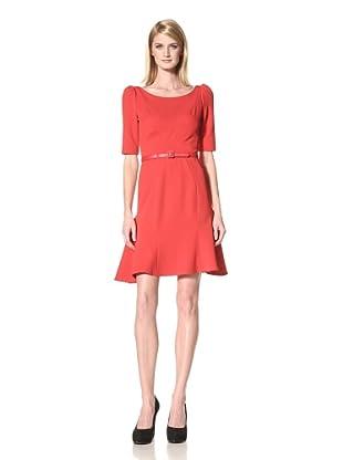 Z Spoke Zac Posen Women's Trumpet Dress (red carpet)
