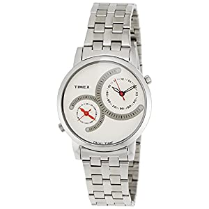 Timex Fashion Analog White Dial Men's Watch - TI000K20800