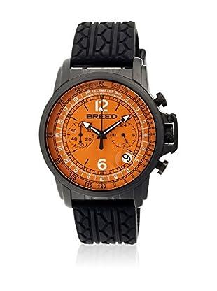 Breed Reloj con movimiento cuarzo japonés Brd5405 Negro 44  mm