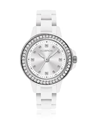 K&Bros  Reloj 9571 (Blanco)