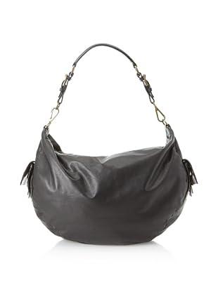 MARNI Women's Leather Hobo, Black