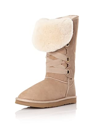 Australia Luxe Collective Women's Bedouin Tall Lace Up Boot (Sand)